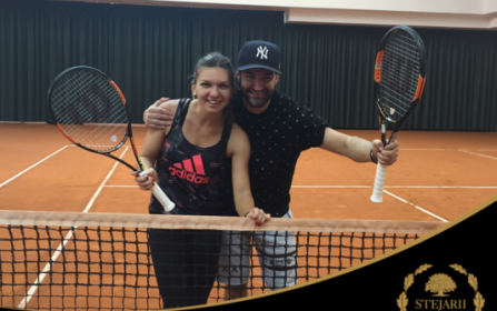 Simona Halep & Smiley