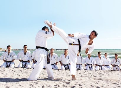 Discover Kyokushin Karate & Kickboxing Academy at Stejarii Country Club!