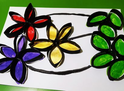 Workshop for kids : Autumn flowers