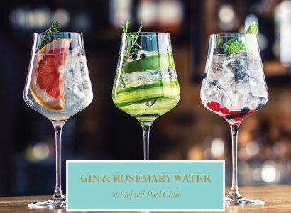 Gin & Rosemary Water